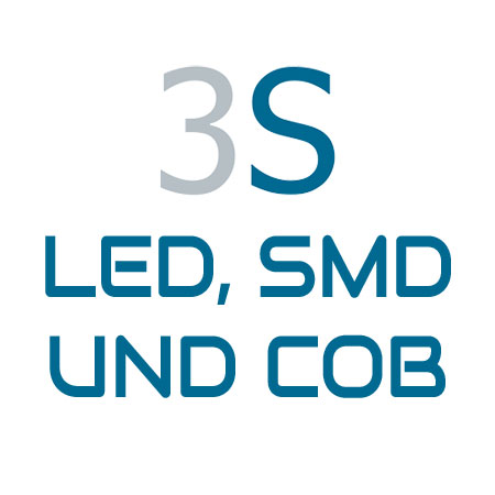 3S SHINE · LED, SMD & COB · Energiesparbeleuchtung